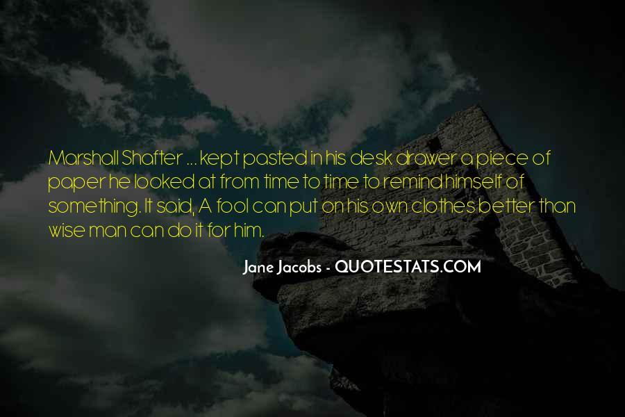 Jane Jacobs Quotes #1626765