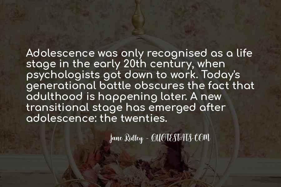 Jane Ridley Quotes #1237032