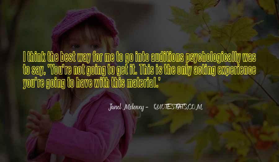 Janel Moloney Quotes #679456