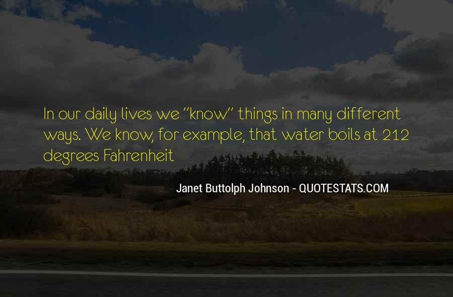 Janet Buttolph Johnson Quotes #832943