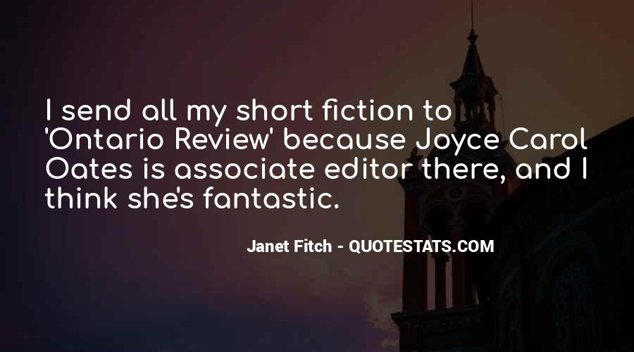 Janet Fitch Quotes #1208696