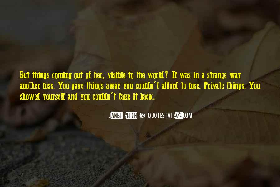 Janet Fitch Quotes #409033