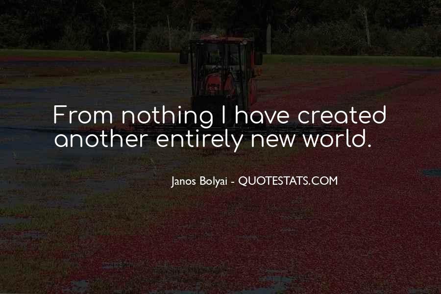 Janos Bolyai Quotes #1051746