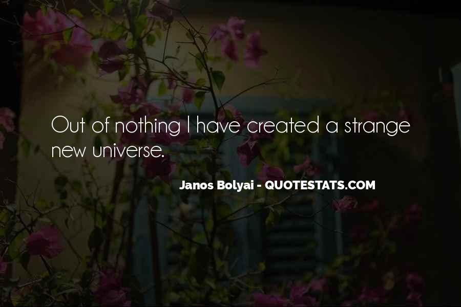 Janos Bolyai Quotes #238606