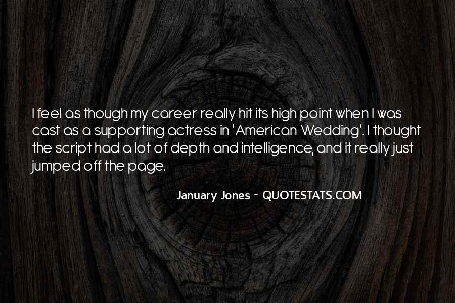 January Jones Quotes #1383294