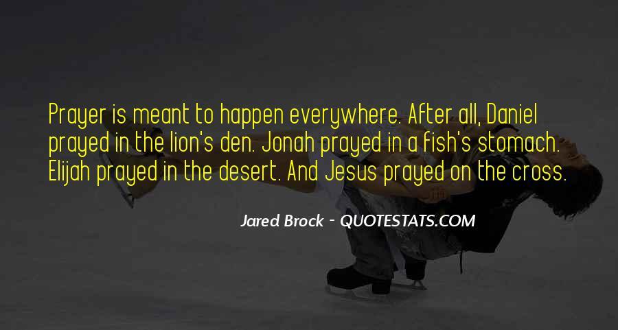 Jared Brock Quotes #1058869