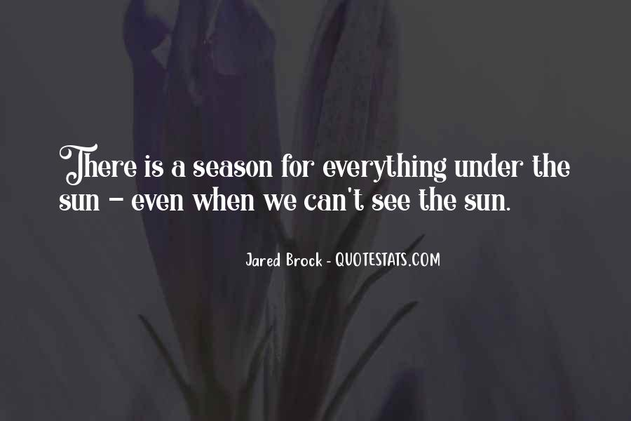 Jared Brock Quotes #1178494