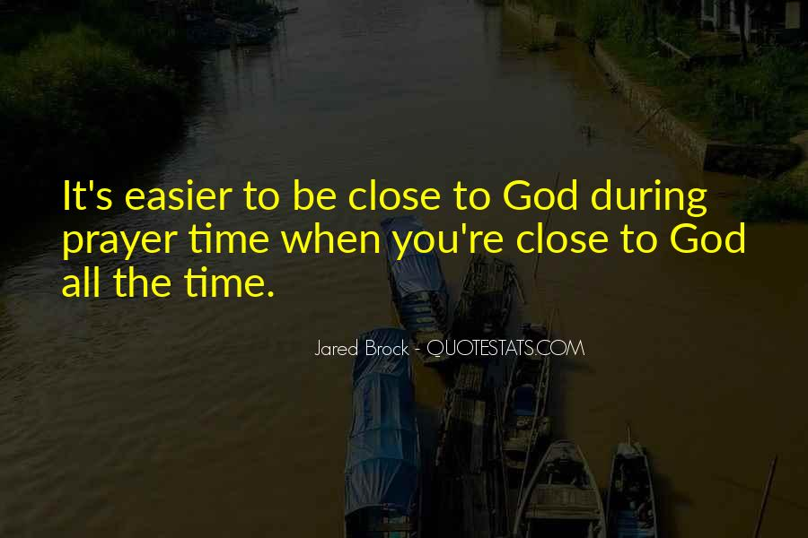 Jared Brock Quotes #1360885