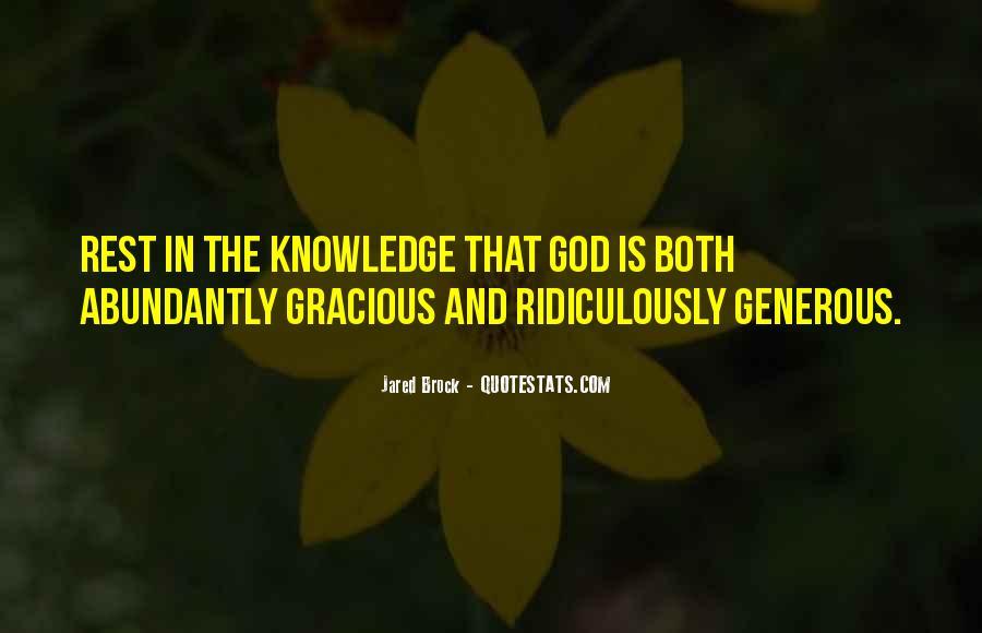 Jared Brock Quotes #1452883