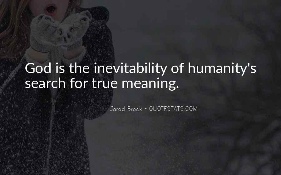 Jared Brock Quotes #1461128