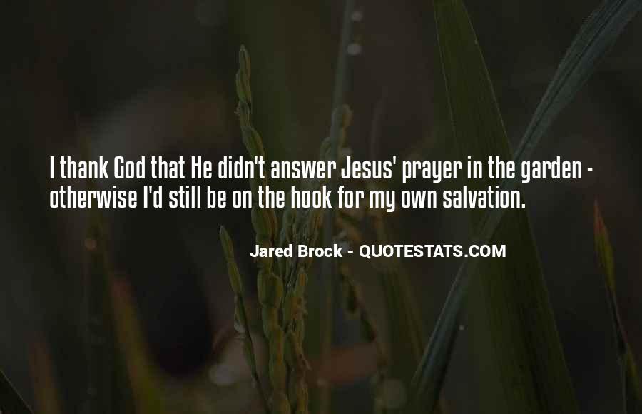 Jared Brock Quotes #395316