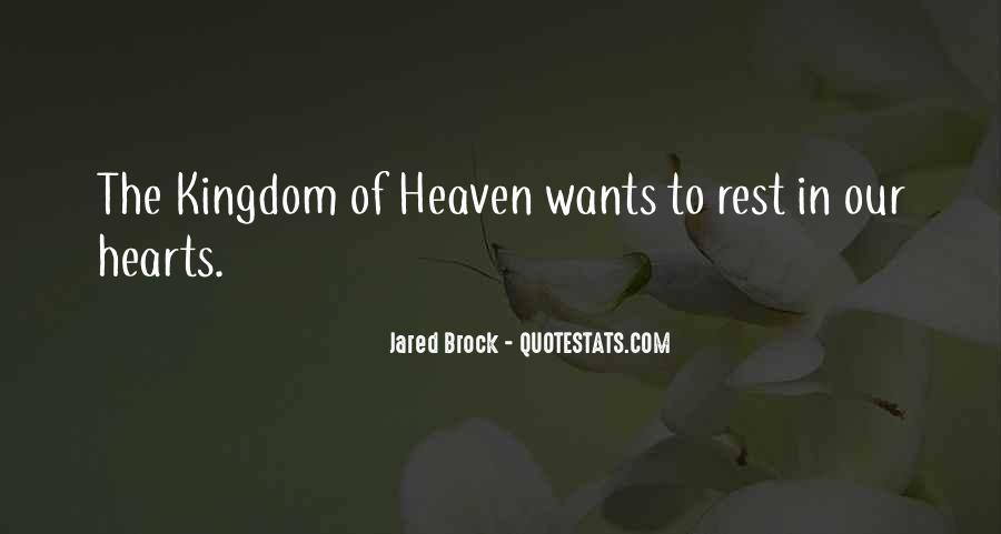 Jared Brock Quotes #552924