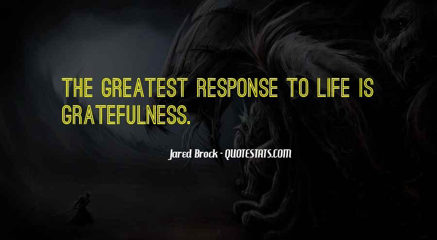 Jared Brock Quotes #607215