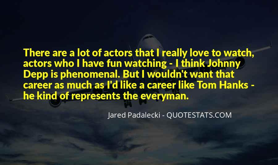 Jared Padalecki Quotes #897417