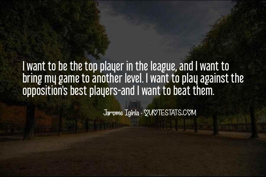 Jarome Iginla Quotes #37717