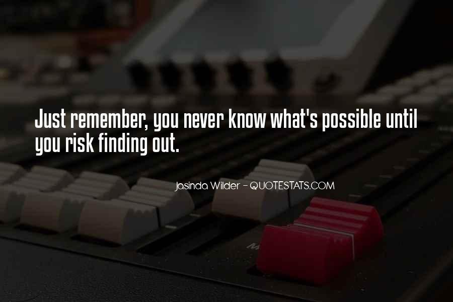 Jasinda Wilder Quotes #1240170