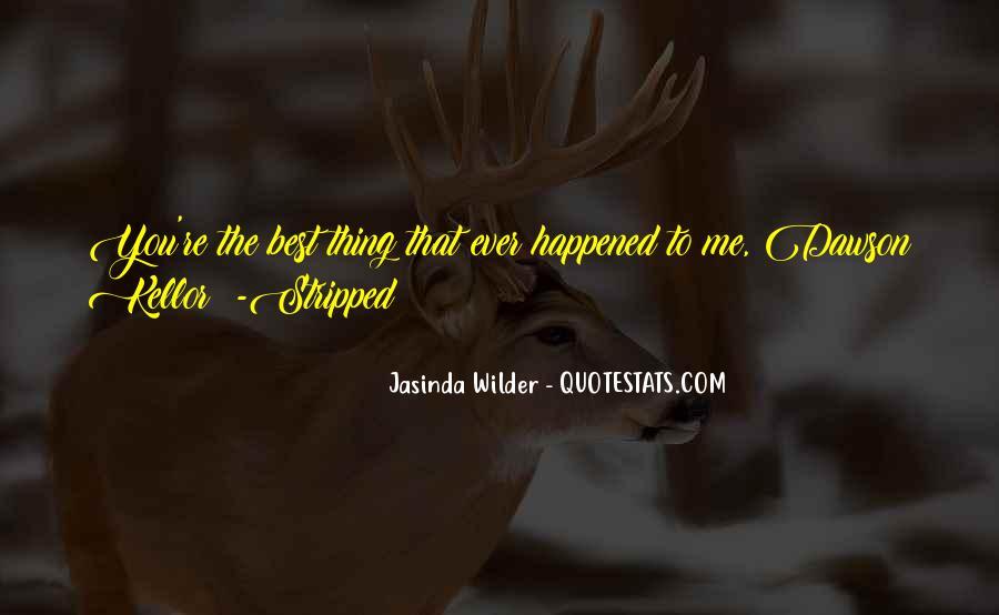 Jasinda Wilder Quotes #1590967