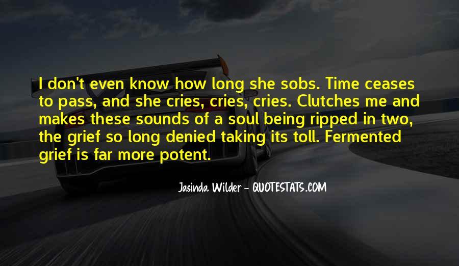 Jasinda Wilder Quotes #1860393