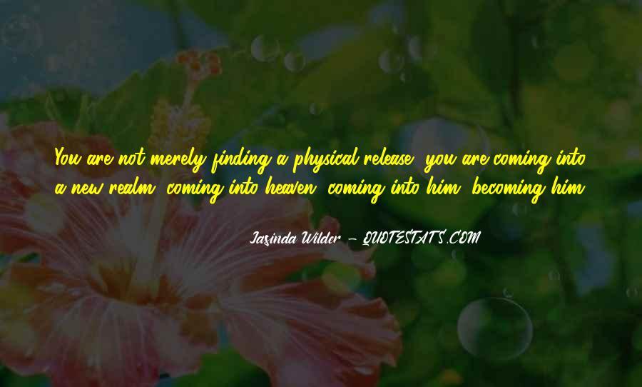 Jasinda Wilder Quotes #254367
