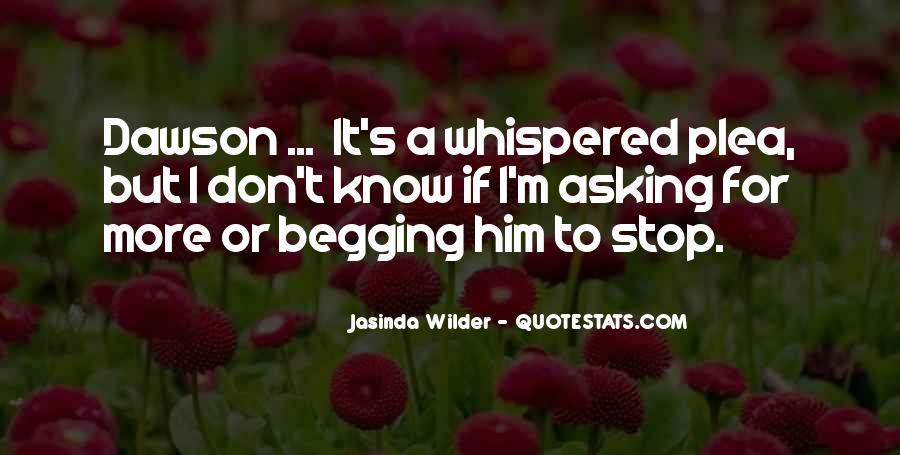 Jasinda Wilder Quotes #310338