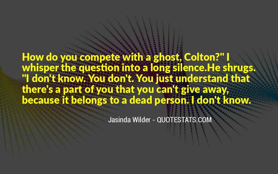Jasinda Wilder Quotes #451345