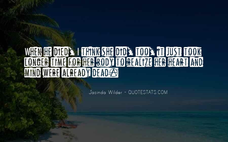 Jasinda Wilder Quotes #552886