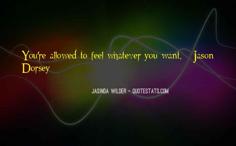 Jasinda Wilder Quotes #566937