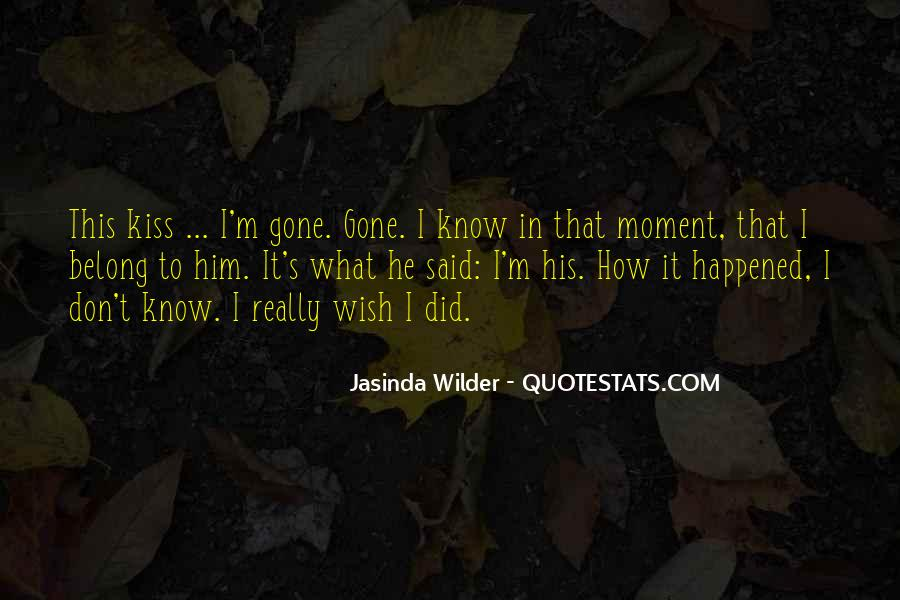 Jasinda Wilder Quotes #642259