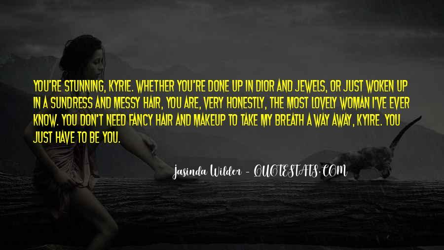 Jasinda Wilder Quotes #719781