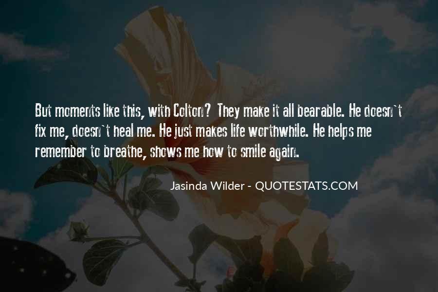 Jasinda Wilder Quotes #805870