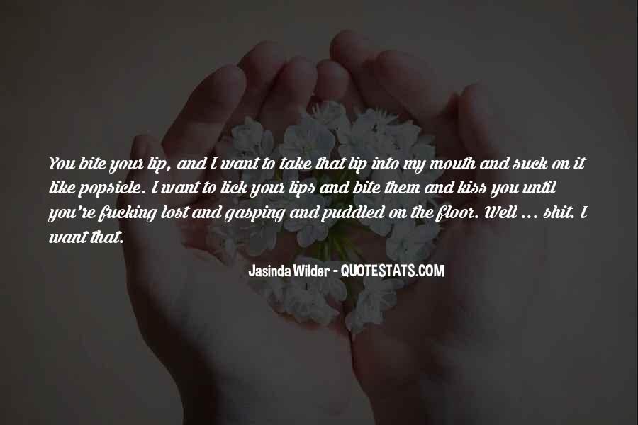 Jasinda Wilder Quotes #941756