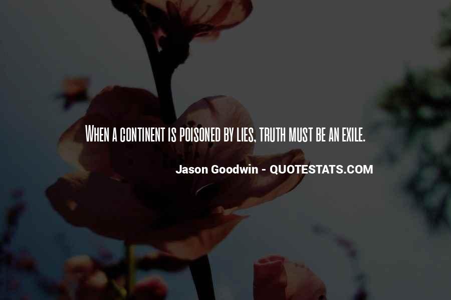 Jason Goodwin Quotes #698846