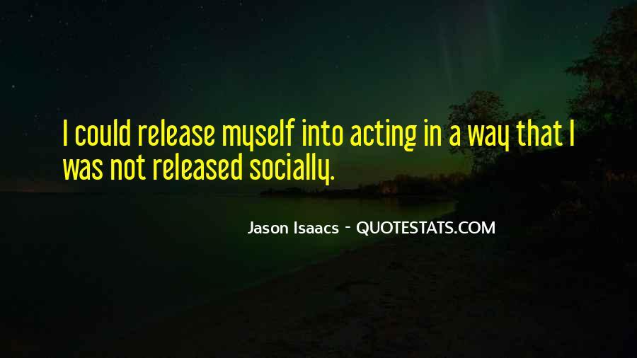 Jason Isaacs Quotes #1239284