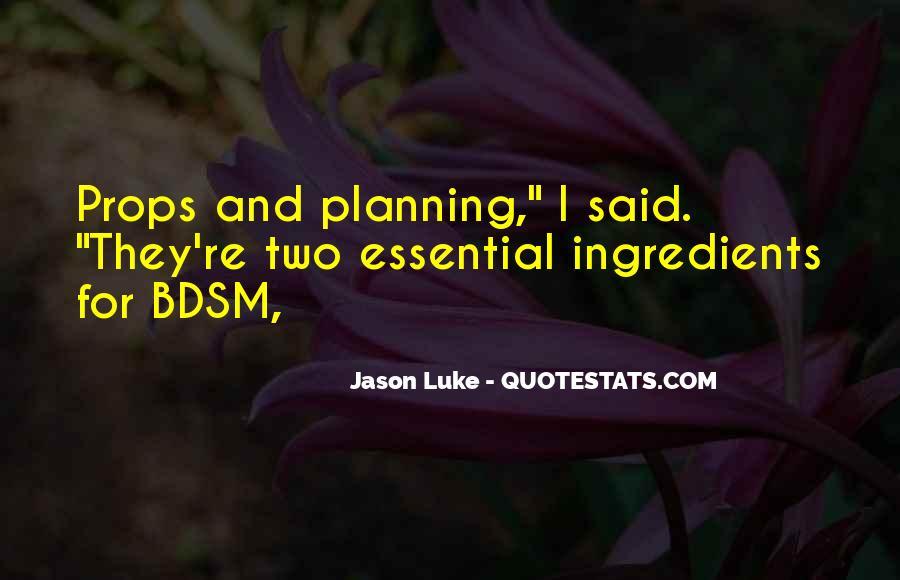 Jason Luke Quotes #310495