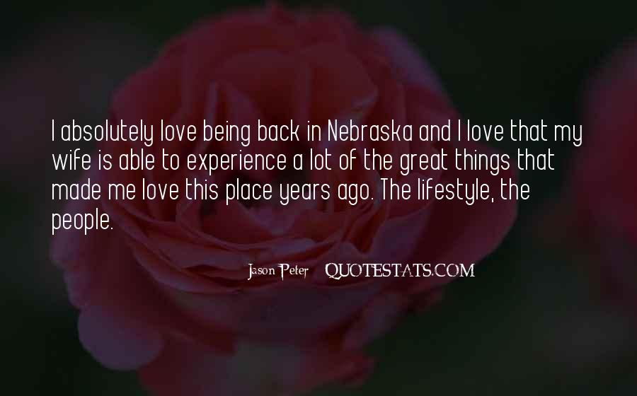Jason Peter Quotes #92086