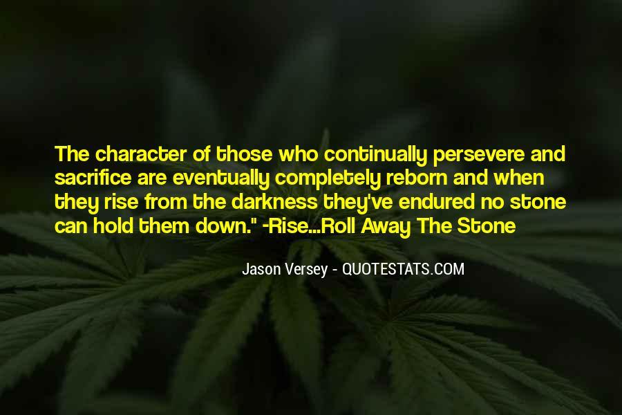 Jason Versey Quotes #569172