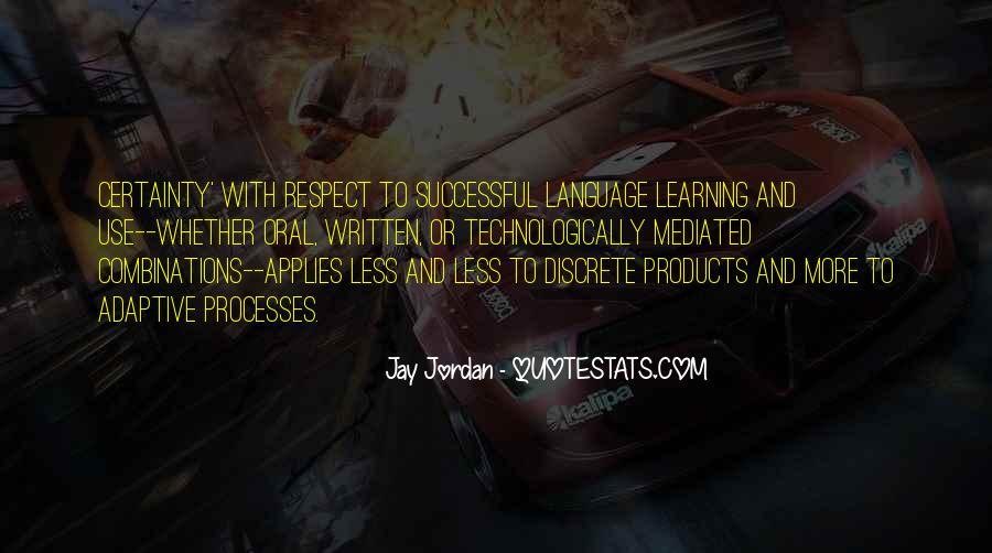 Jay Jordan Quotes #267146