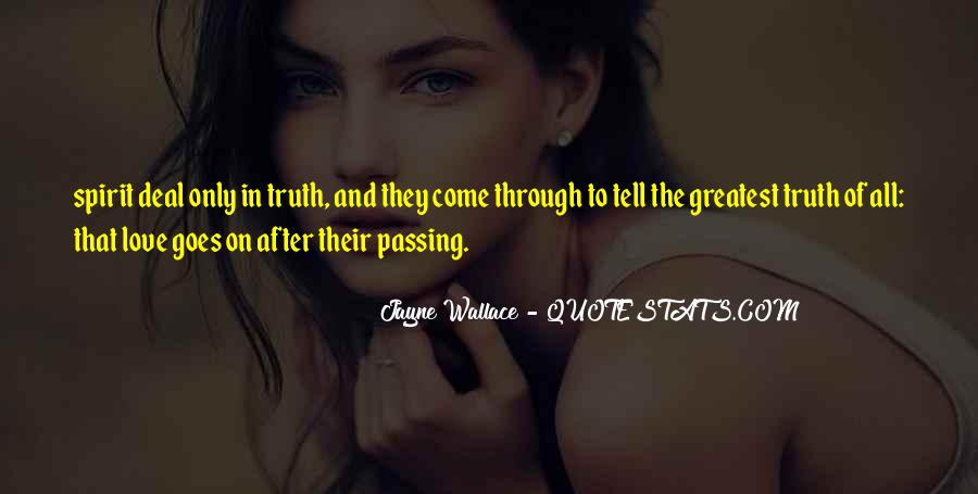 Jayne Wallace Quotes #968813