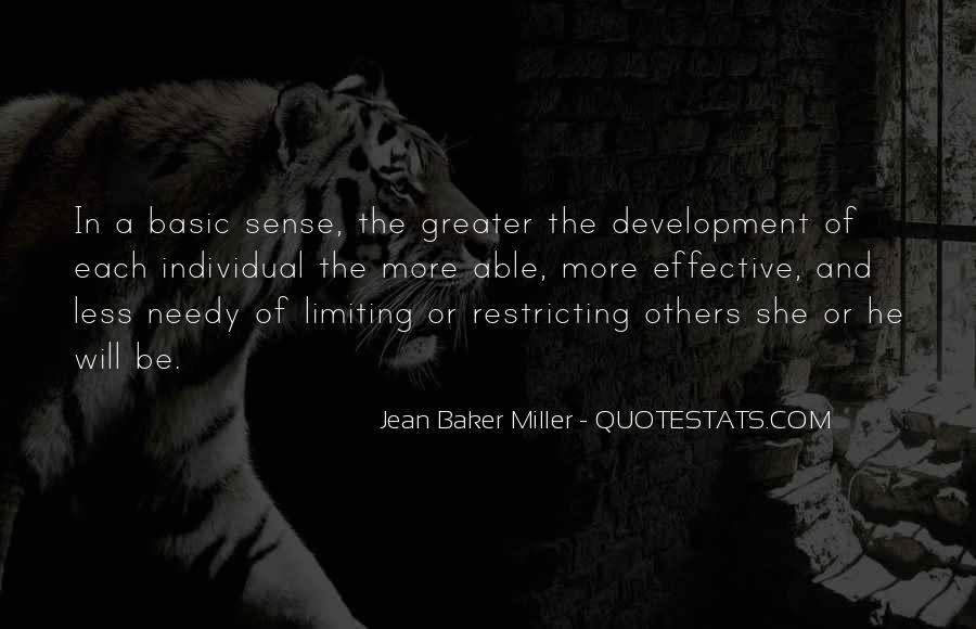 Jean Baker Miller Quotes #194411