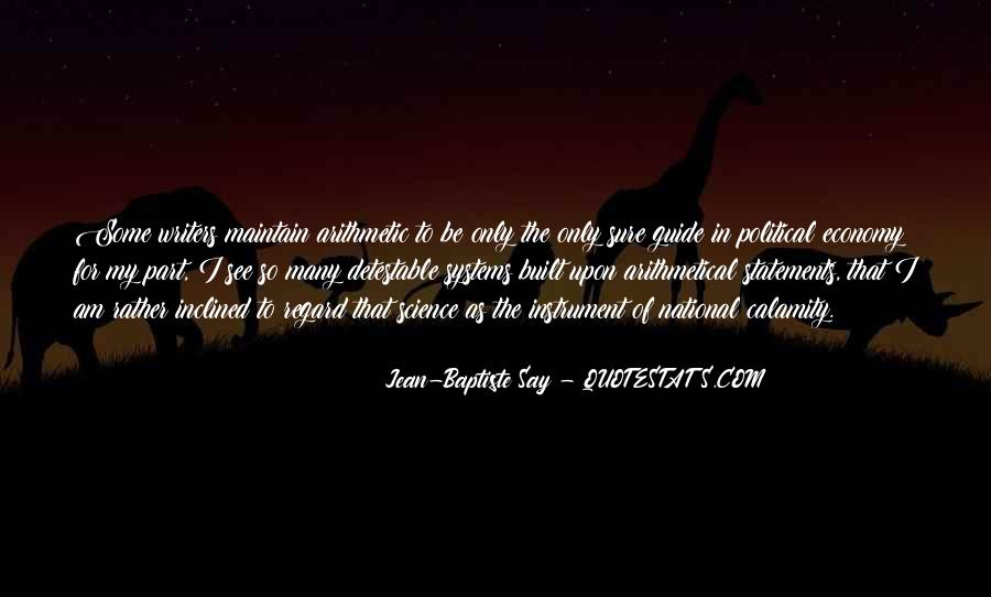 Jean-Baptiste Say Quotes #1772356