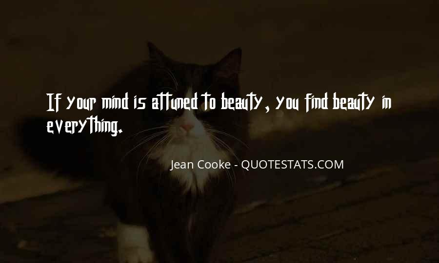 Jean Cooke Quotes #60363