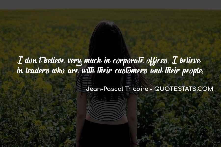 Jean-Pascal Tricoire Quotes #1578440