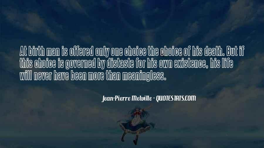 Jean-Pierre Melville Quotes #1822883