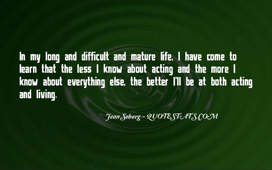 Jean Seberg Quotes #581360