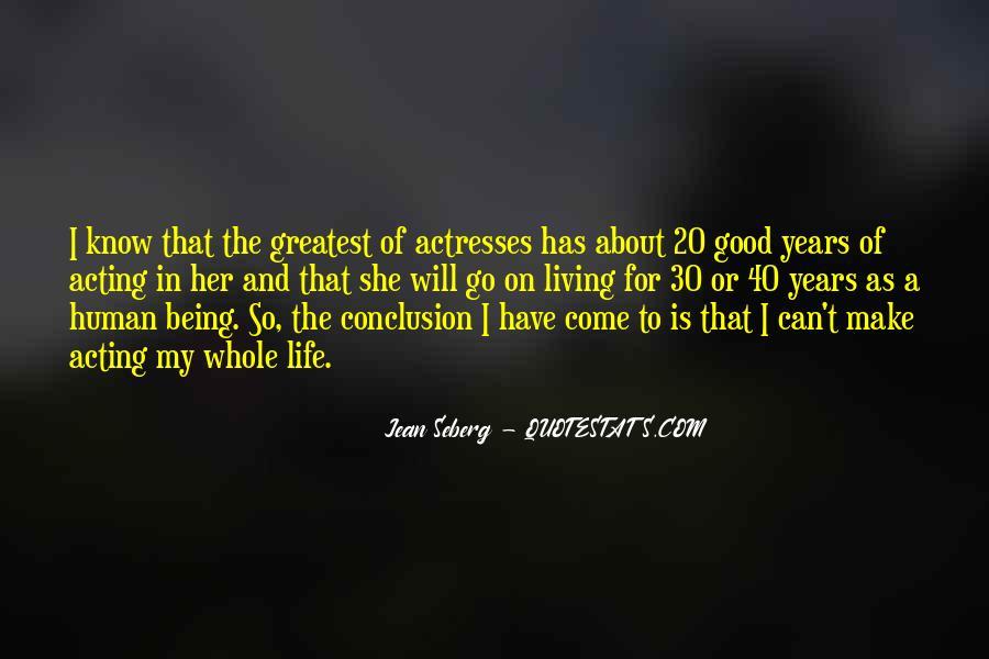 Jean Seberg Quotes #703317