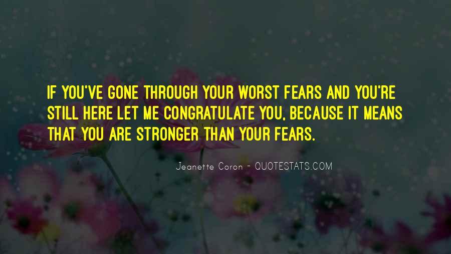 Jeanette Coron Quotes #1109743