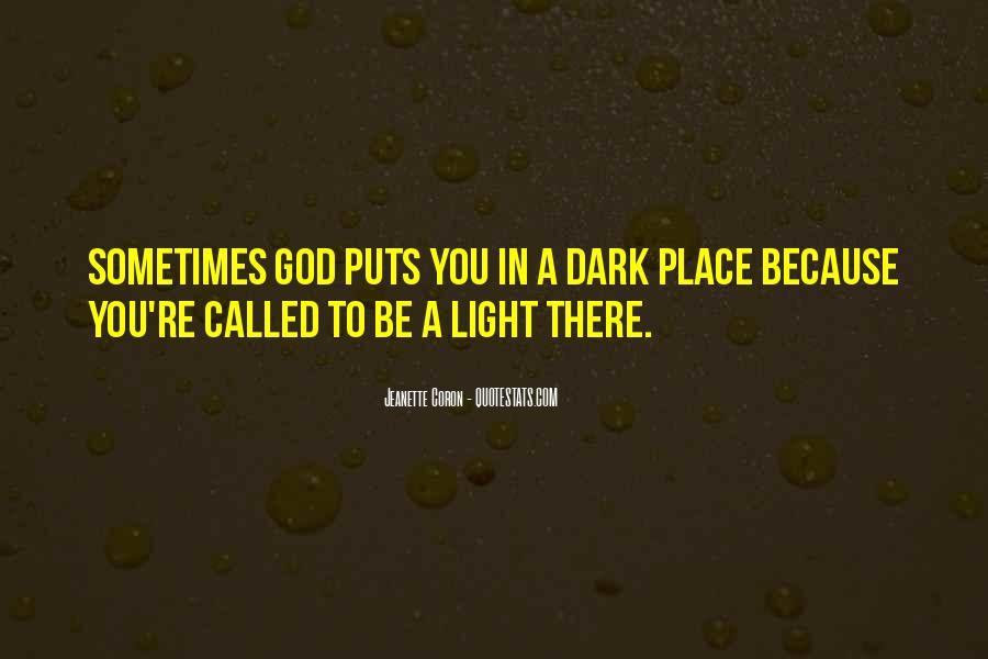 Jeanette Coron Quotes #1505511
