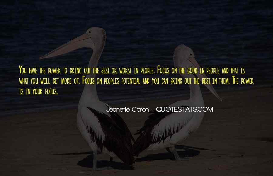 Jeanette Coron Quotes #1845159
