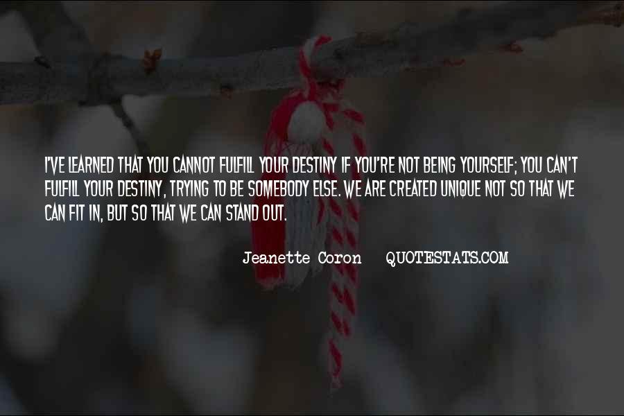 Jeanette Coron Quotes #781886