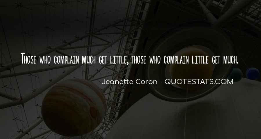 Jeanette Coron Quotes #911276